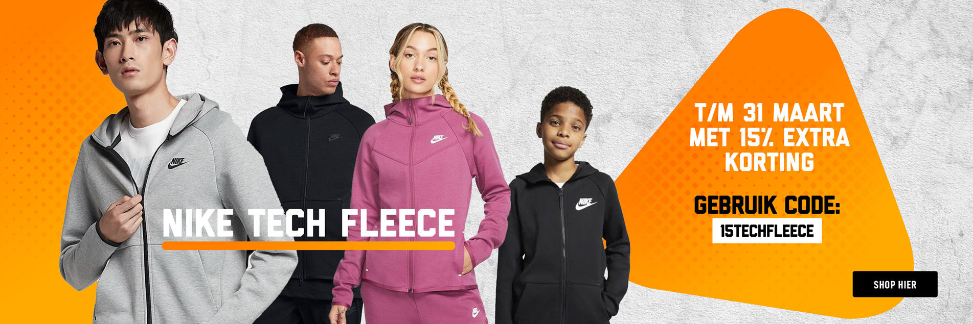 Nike Tech Fleece Actie