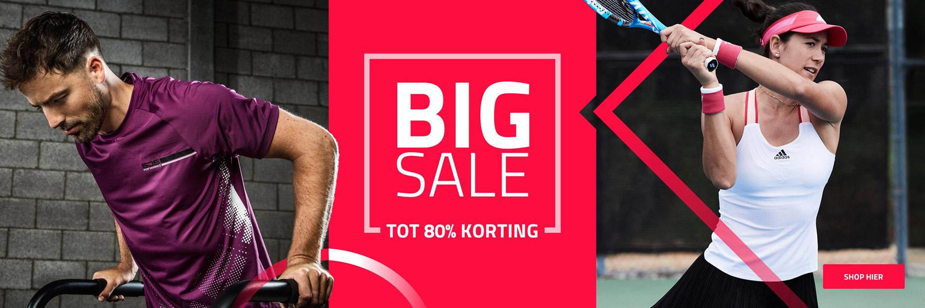 Big Sale   Tot 80% korting!