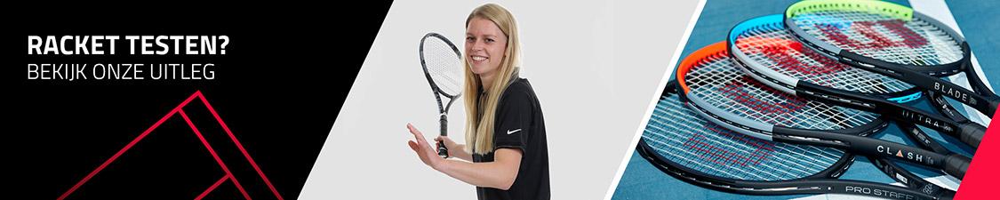 Racket testen