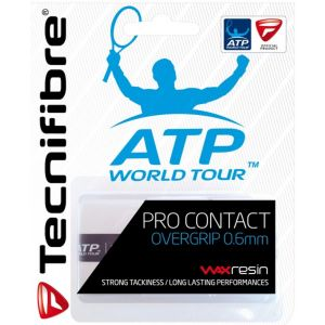 Tecnifibre Pro Contact Overgrip 3 St. Wit