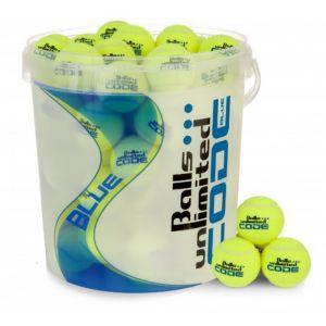 Balls Unlimited Code Blue Bag + Ball Bucket 60 Stuks