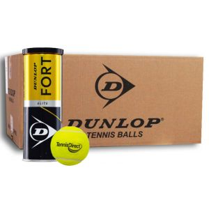 Dunlop Fort Elite TennisDirect Logo Bal 24x3 st.