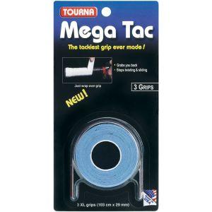 Tourna Mega Tac Overgrip 3 St. Blauw