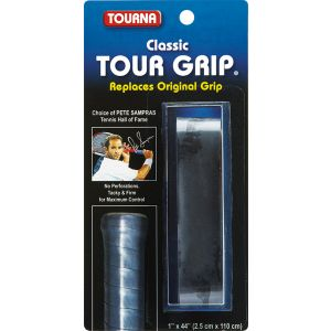 Tourna Sampras Tour Basisgrip Zwart