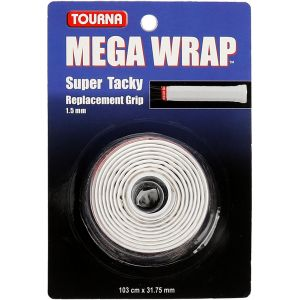 Tourna Mega Wrap Basisgrip Wit